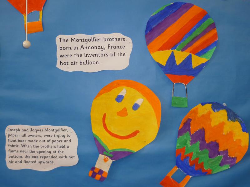 Montgolfier Balloon Display